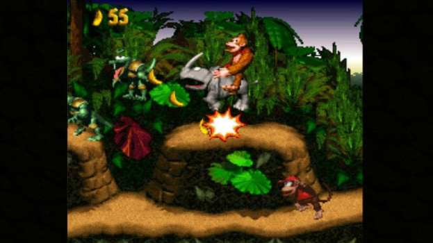 5. Donkey Kong Country