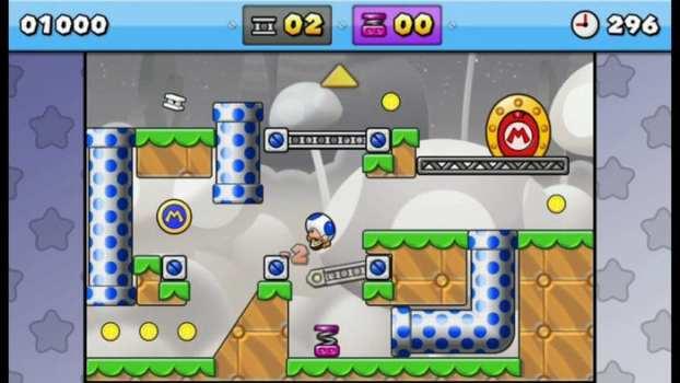 20. Mario vs Donkey Kong: Tipping Stars