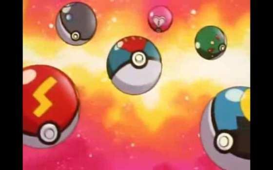 Different Poke Balls
