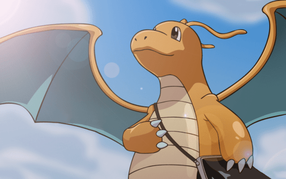 Flying: Dragonite