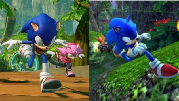 Sonic Boom: Rise of Lyric vs. Sonic the Hedgehog (2006)