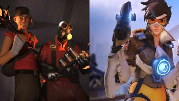 Team Fortress 2 vs. Overwatch