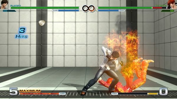The King of Fighters XIV, Kyo Combo