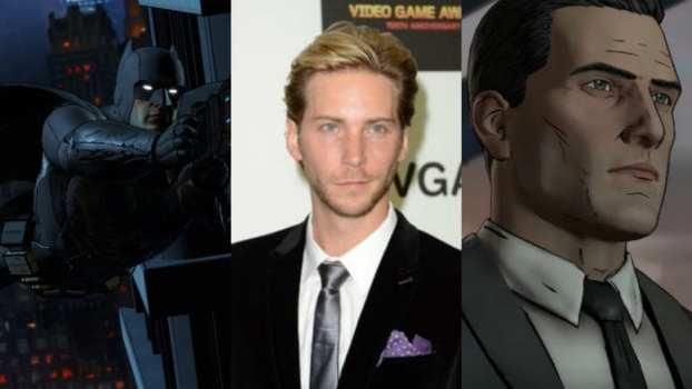 Troy Baker- Bruce Wayne/ Batman