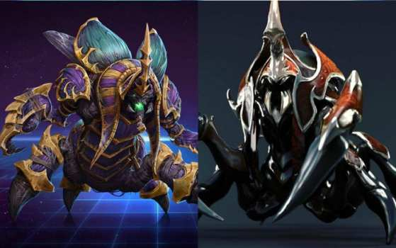 Nyx Assassin (Dota 2) vs Anub'Arak (Heroes of the Storm)