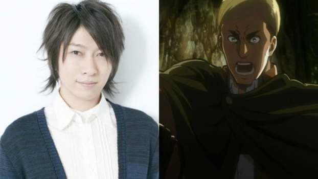 Daisuke Ono as Erwin Smith