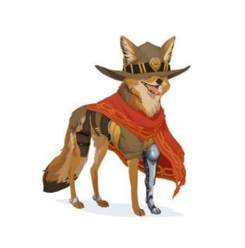 McCree Overwatch Dog