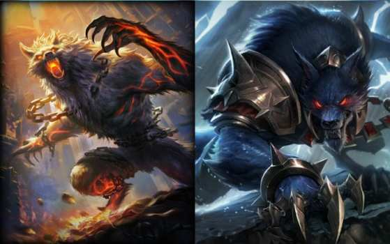 Fenrir (Smite) vs Warwick (League of Legends)