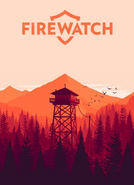 firewatch, box art