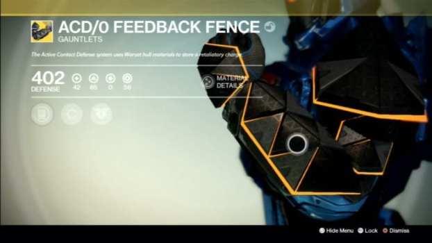 ACD/0 Feedback Fence - Gauntlet