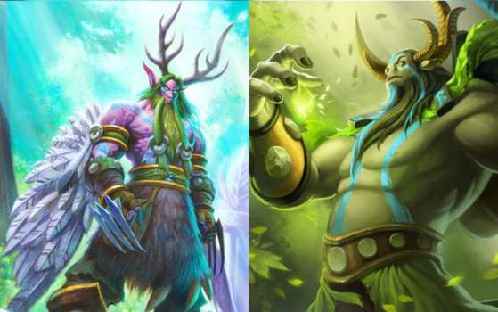 Malfurion (Heroes of the Storm) vs Nature's Prophet (Dota 2)