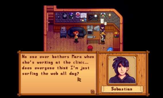 stardew valley sebastian, character can get married, dating, romance