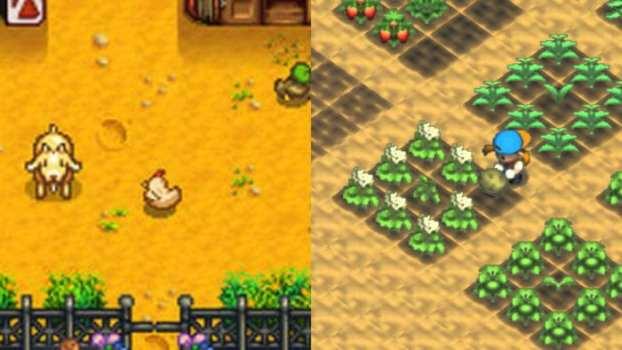 Stardew Valley (PC) vs. Harvest Moon 64 (N64)