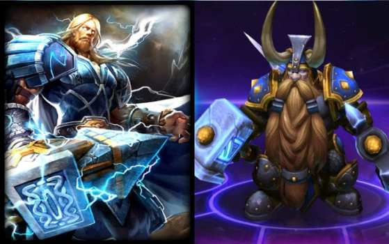 Thor (Smite) vs Muradin (Heroes of the Storm)