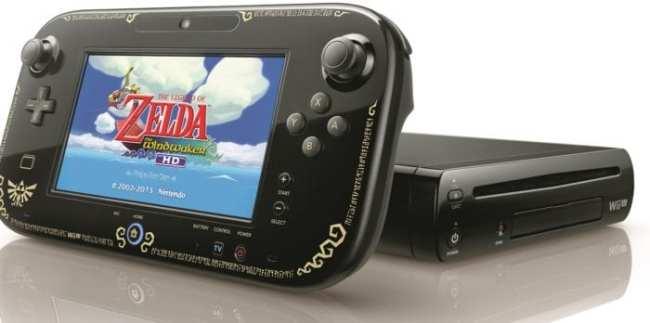 The Legend of Zelda: The Wind Waker Wii U Gamepad