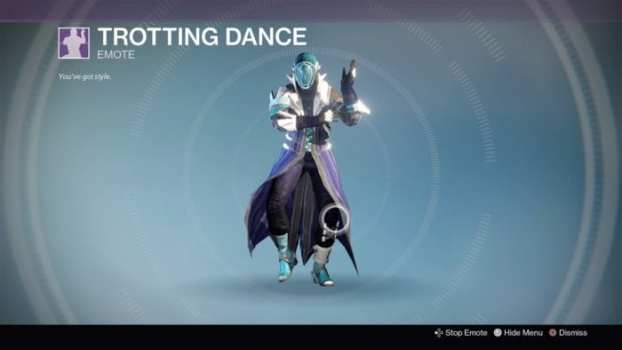 Trotting Dance (500 Silver)