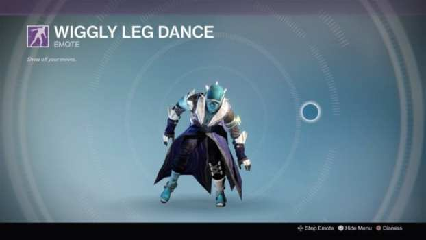 Wiggly Leg Dance (500 Silver)