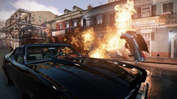 Mafia III - Car explosion