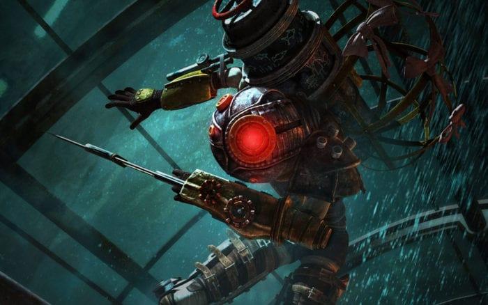 Bioshock 2, underwater FPS