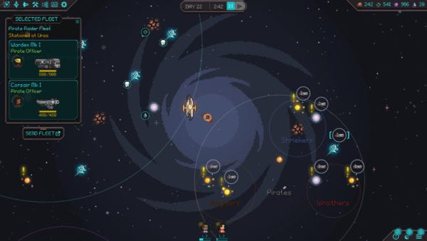 Halcyon 6 Galaxy Map