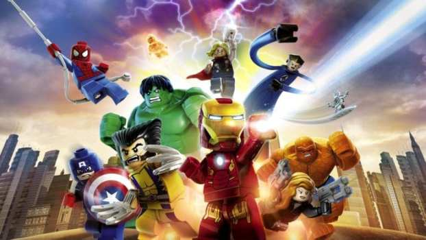 LEGO Marvel Super Heroes (PS3/Vita/PS4)