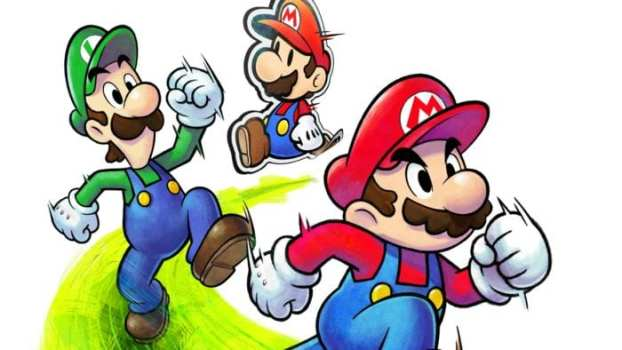 Seriously, what is Mario's deal with Luigi?