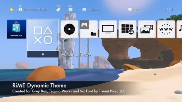 RiME Dynamic Theme