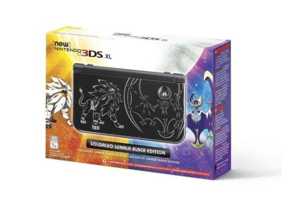 Pokémon Sun/Moon New 3DS XL box art