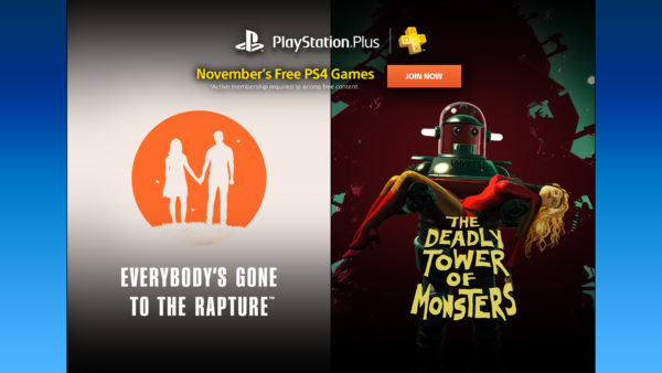 PlayStation Plus November 2016