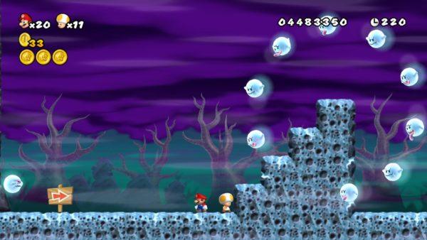 Mario, Boos, Ghosts