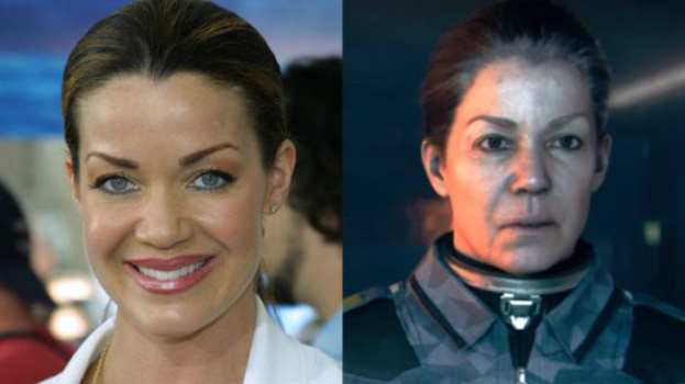 Claudia Christian - Captain Ferran