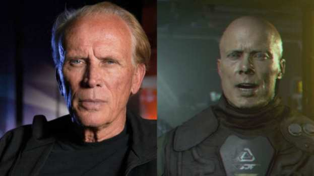 Peter Weller - Vice Admiral Caleb Thies