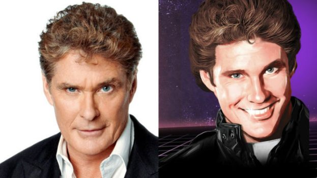 David Hasselhoff - Spaceland Announcer