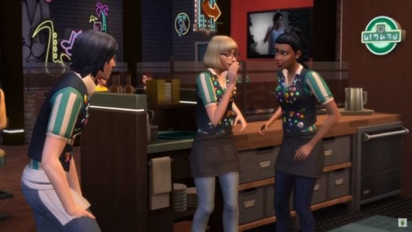 The Sims 4, Dine Out