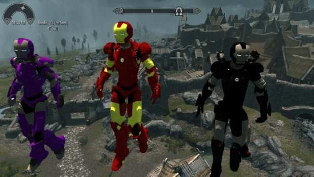 Customizable Iron Man Armors