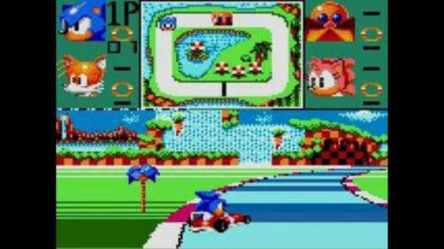 Sonic Drift - Game Gear Japan Only (1994)