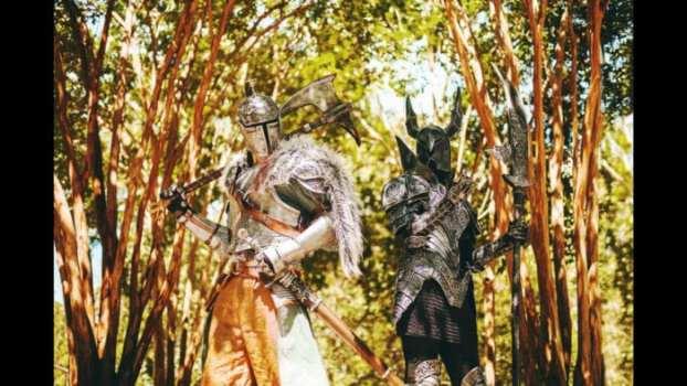 Faraam Armor Set and Black Knight - Dark Souls II