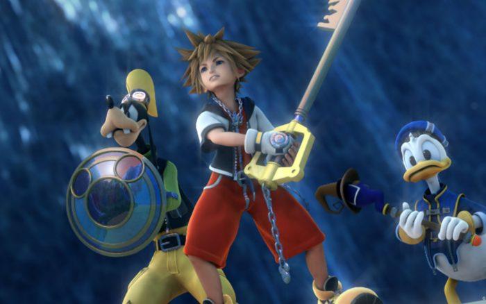 kingdom hearts, 2.5, screenshot, video games