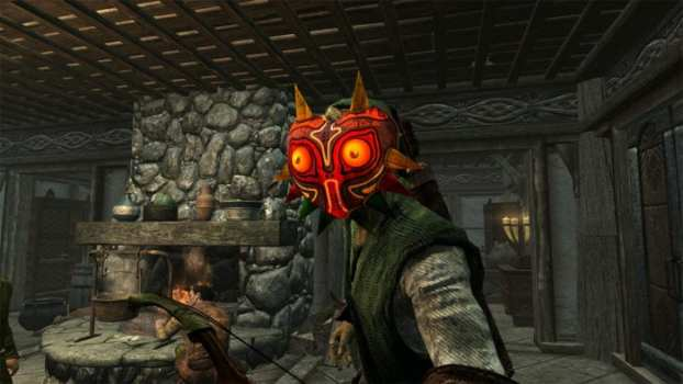 Majora's Mask The Legend of Zelda Skyrim