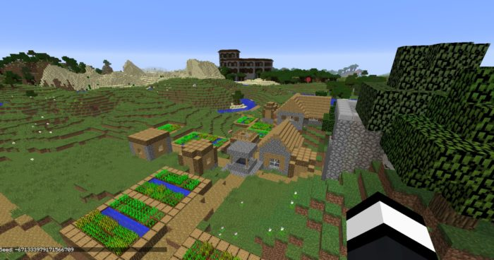 minecraft 1.11 mansion seed