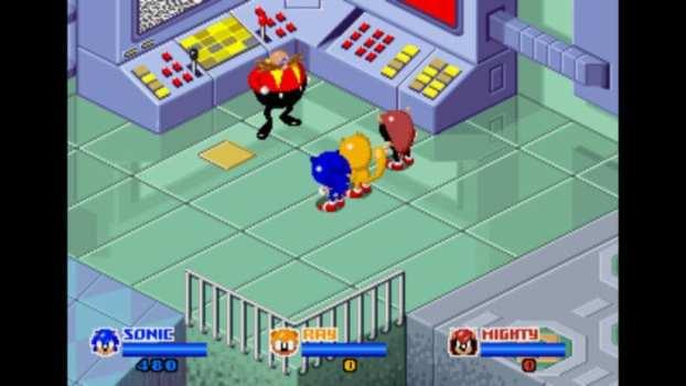 SegaSonic the Hedgehog - Arcade (1993)