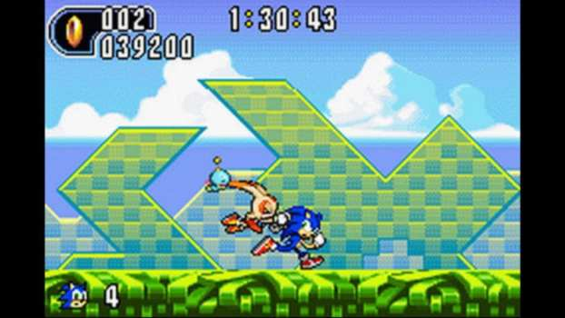Sonic Advance 2 - Game Boy Advance (2002)