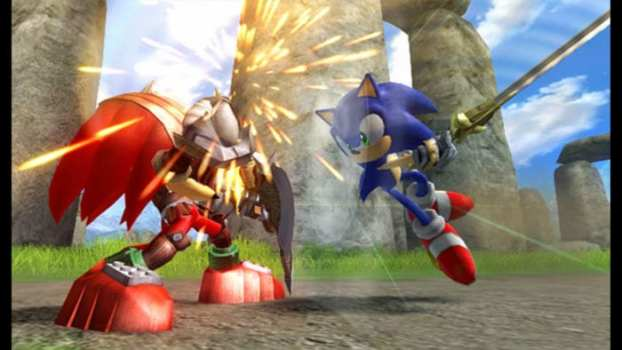 Sonic and the Black Knight - Nintendo Wii (2009)