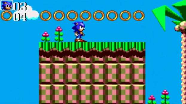 Sonic Chaos - Sega Master System (1993)