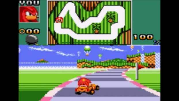 Sonic Drift 2 - Game Gear (1995)