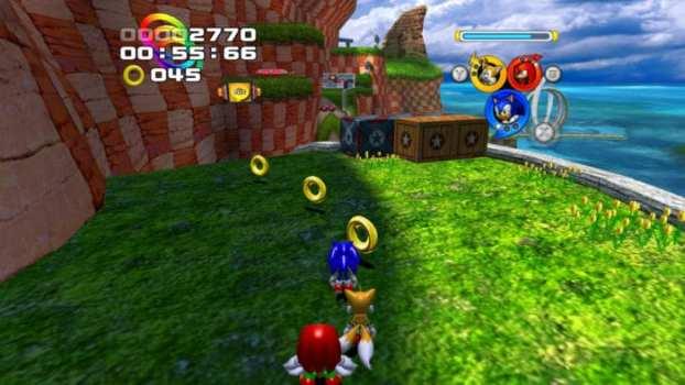 Sonic Heroes - Gamecube, PS2, Xbox (2003)