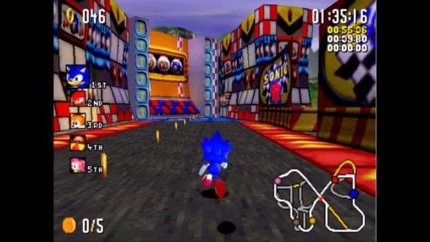 Sonic R - Sega Saturn (1997)