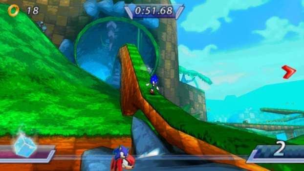 Sonic Rivals - PSP (2006)