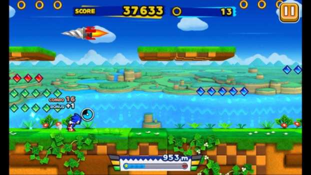 Sonic Runners - iOS and Android (2015)