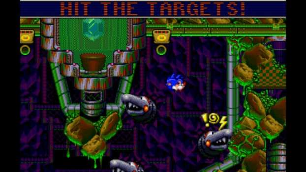 Sonic Spinball - Sega Genesis (1993)